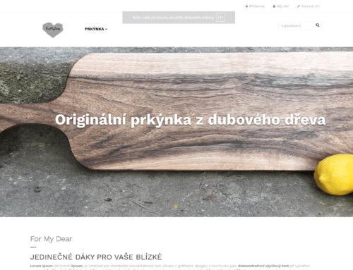 Eshop formydear.cz